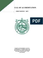 Manual Accreditation