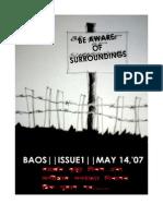 Baos Issue 1