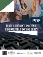 CERTIFICACION INTERNACIONAL FUNDAMENTAL COACHING SKILLS