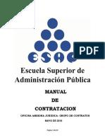 Proyecto Manual de Contratacion