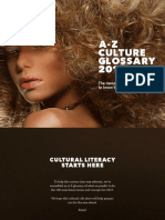 Az Culture Glossary 2017