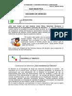 Nociones de Derecho Para Tica DDHH y Construccion de La Ciudadania 2015