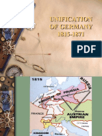 Unification of Germany A