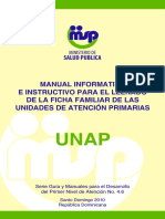 Manual Informativo e Instructivo de Ficha Familiar