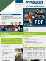 Diptico Servicios Postventa (CETI - SERTEC)