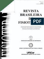 Brito, r. n. Et Al., 2004 Análise Comparativa Da Marcha Humana Em Solo a Subaquática Em Dois Níveis de Imersão