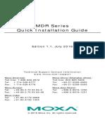 MDR_Series_QIG_e1.1