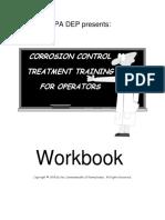 CORROSION CONTROL TREATMENT TRAINING FOR OPERATORS