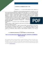 Fisco e Diritto - Corte Di Cassazione n 3327 2010