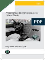 SSP 087 Antidémarrage Électronique Dans Les Voitures Skoda