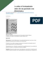 Caso Clínico Sobre El Tratamiento Fisioterapéutico de Un Paciente Con Atrofia Multisistémica