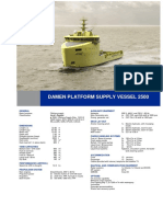 Platform Supply Vessel 2500 DS