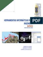 V.03 - Herramientas Informaticas Para Ingenieria Matrices