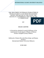 Akhter, Bilkis - The treatment of female characters in Thomas Hardy´s Ffmc, The return of the native, The mayor of Casterbridge and Tess
