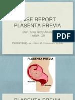 PPT Case Report Plasenta Previa Ppt