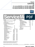 9619 Philips 42PF7321-77 Chassis LC4.41Aaa Televisor Plasma Manual de Servicio