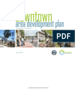 Draft downtown area development plan