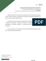 Norma Para Encuadernacion de Documentos