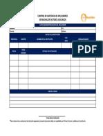Bitacora de Aplicación(Registro de Asistencia a Aplicación) FA