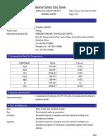 MSDS Report Ni200
