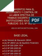 D.S.008-2006-ED.HORAS EFECIVAS.ppt