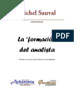 La Formacion Del Analista. Michel Sauval