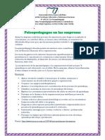 Rol del psicopedagogo en diferentes ambitos- Ps Institucional y comunitaria- Alegre. Correa. Salas.docx