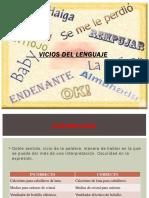 Vicios Del Lenguaje - Copia