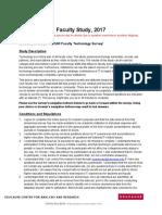 2017 e Car Faculty Survey