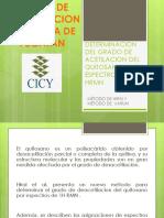 Determinacion Del Grado de Acetilacion Del Quitosano Por Nmr ( Hirai y Varum)