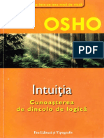 Osho - Intuitia