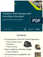 Procemin 2015 Flotation Plant Design with Aminfloat Simulator