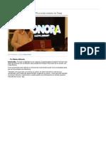 26-01-17 De acuerdo gobernadora en que EPN no acuda a reunión con Trump. -UniObregon