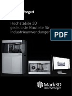 Markforged-Broschuere Mark3D 2016 Web