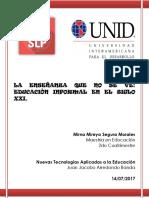 LA ENSEÑANZA QUE NO SE VE, EDUCACIÓN INFORMAL EN EL SIGLO XXI..docx