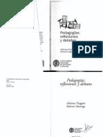 PUIGGROS.pedagogias.reflexiones y Debates