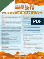 Convocatoria Diseño de Cursos 2016