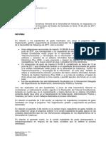 La respuesta de la Generalitat al Ministerio de Hacienda sobre los 6.150 euros