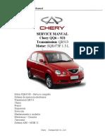 Chery QQ6 - Manual de Servicio Completo