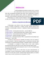 Minerais Conceitos e Formação