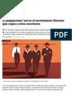 El Plagiarismo_ Así Es El Movimiento Literario Que Copia a Otros Escritores