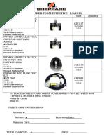 SHEPPARD FORM - Puller & Test Kit Order Form Effective 1 1 2012[1]