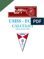 Salidaamarupp Umss 1 16 Entrenamiento 2016062108