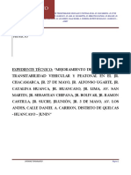 Informe Topográfico_Final Pistas y Veredas