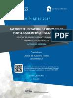 Informe Resultados No Exitosos Proyectos Viales