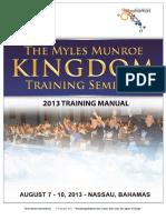 Kingdom Manual 2013 Revised