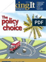 Making It#3 - The policy choice