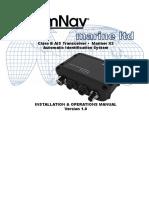 29010084 v1r0 Mariner X2 Gen2 Installation Operation Manual