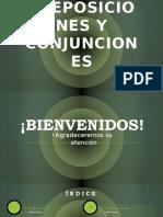 Preposiciones y Conjunciones 1