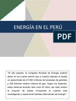 Energía en El Perú